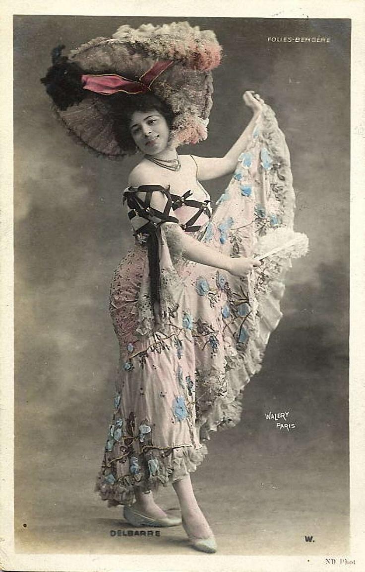 Vintage lady card