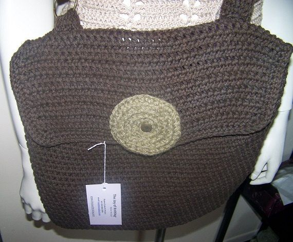 Crochet Back Bag : Crochet Book Bag Messenger Bag Back to School Bag by DylanaDesigns, $ ...