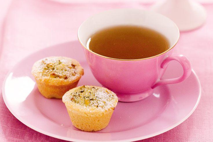 Pistachio frangipane tarts | Tea party | Pinterest