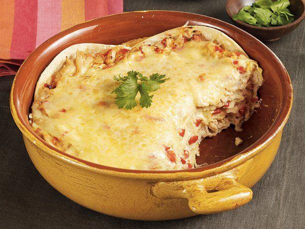 Tortilla Chicken Casserole | Recipe