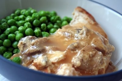 Make ahead slow cooker chicken parisienne