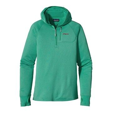 they added the hoody now: R1 Hoody (Women s) #Patagonia #RockCreek