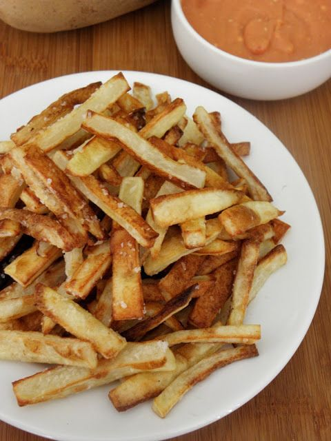 Oven Baked French Fries | cinnamon freud | Side dishes | Pinterest