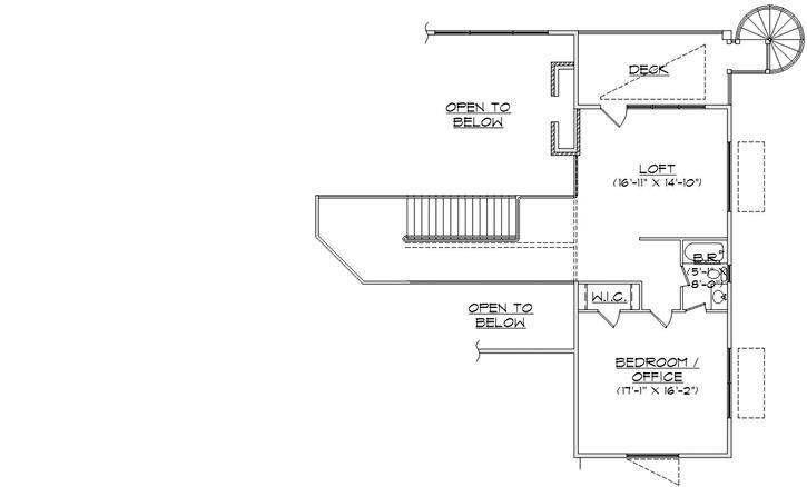 Loft Floor Plan Mountain Lake House Pinterest