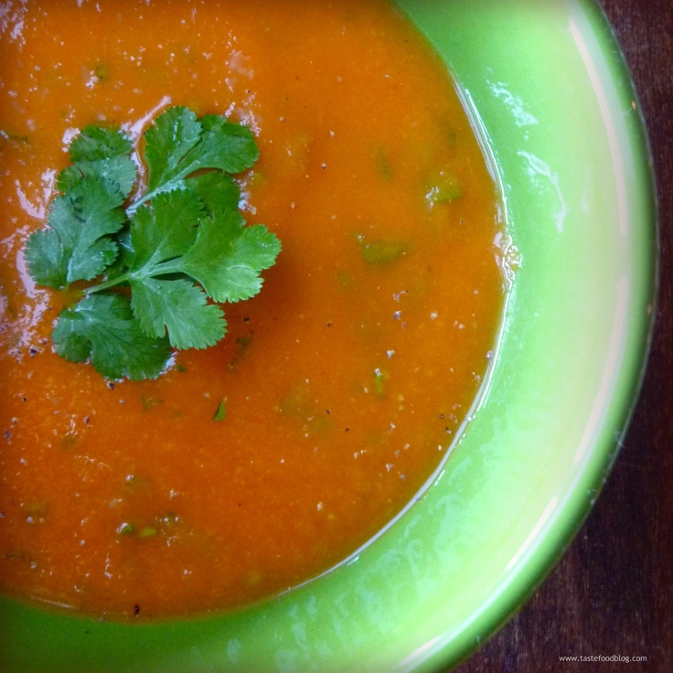 Carrot And Apple Soup With Cumin And Coriander Recipes — Dishmaps