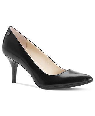 Calvin Klein Womens Shoes, Ashley Pumps - Pumps - Shoes - Macys