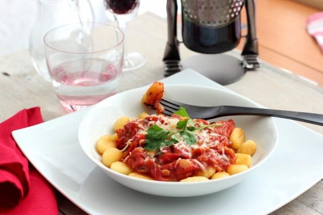gnocchi with cherry tomato sauce | ºººKitchen dreamsººº ...
