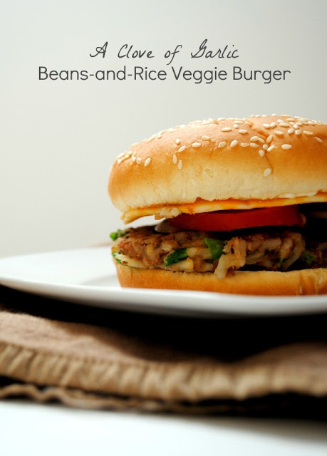 bean and rice veggie burgers | I'm a Foodie.. | Pinterest