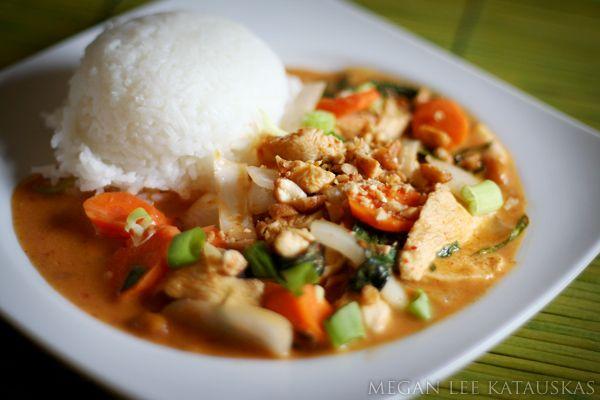 Recipe Thai Panang Curry by Meg Kat - Petit Chef