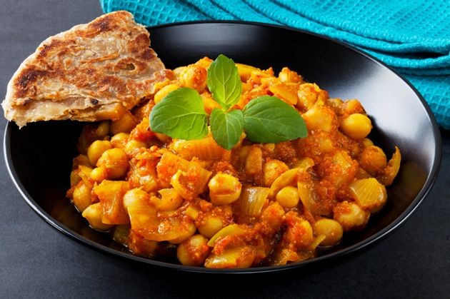 Indian Vegetarian Curry Chana Masala | Global cuisine | Pinterest