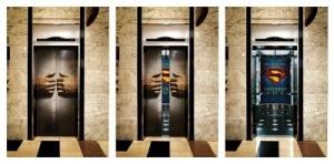 Superman Elevator!