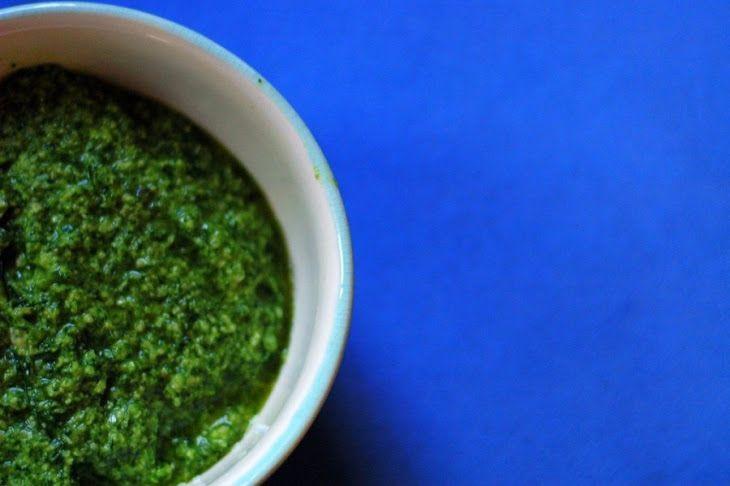 Best Basic Pesto Recipe Recipe   food   Pinterest