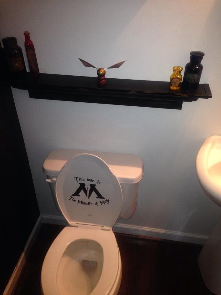 harry potter bathroom my style and loves pinterest