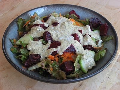 Creamy Herb Dressing - vegan to boot! | Recipes | Pinterest