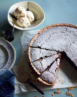 walnut caramel tart | Pies & Tarts | Pinterest