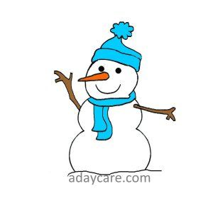 Six little snowman book and 15 activities for math, fine motor, circle ...