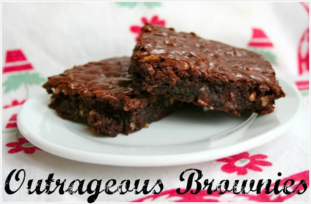 Outrageous Brownies | Sweets | Pinterest