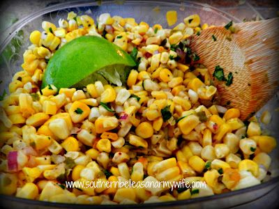 Fire Roasted Corn Salsa - Southern Belle as an Army Wife (http ...