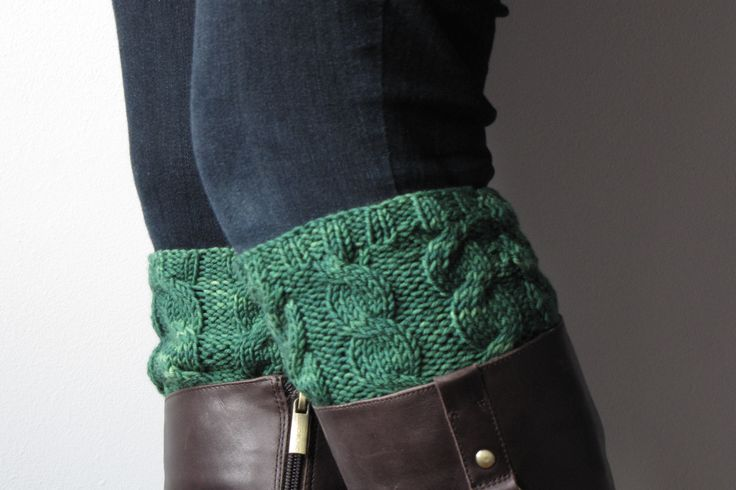 Free boot topper pattern To knit Pinterest