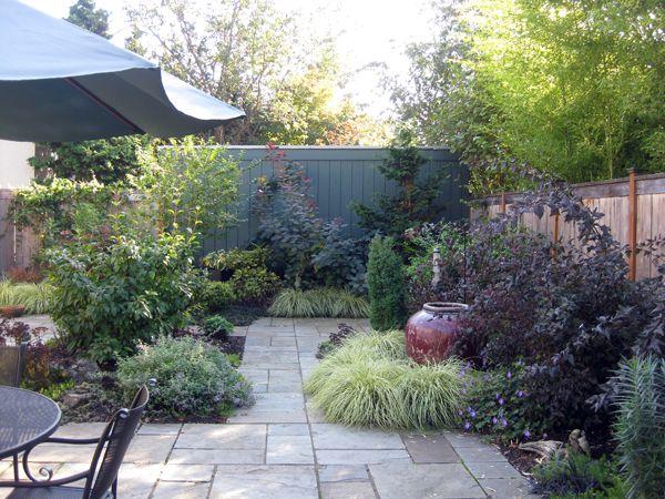 Hannan garden design lush landscapes pinterest - Garden design corner ...