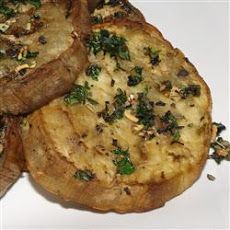 Pan-Fried White Eggplant With Onion, Caper, And Herb Sauce ...