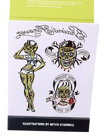 Zombie Temporary Tattoos | PLASTICLAND