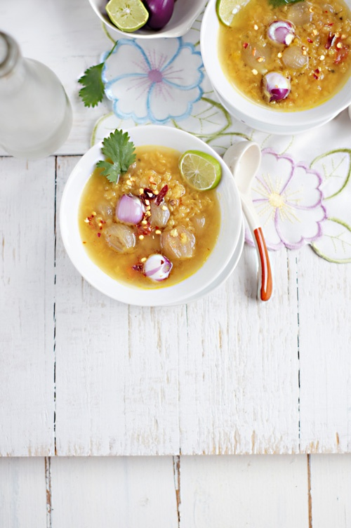 Red Lentils with Pearl Onion | Yummers | Pinterest