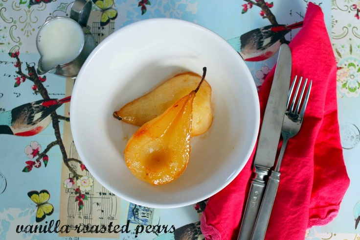 roasted vanilla pears | i made this {eat and relish} | Pinterest
