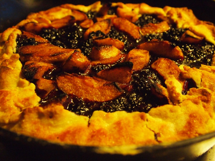 Nectarine Blackberry Open Faced Pie Recipes — Dishmaps