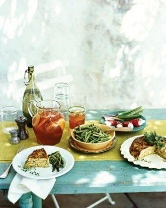 ... Sauteed Asparagus with Dijon Vinaigrette Milk-Chocolate Creams
