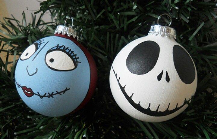 Nightmare before christmas ornament halloween - Jack skellington christmas decorations ...