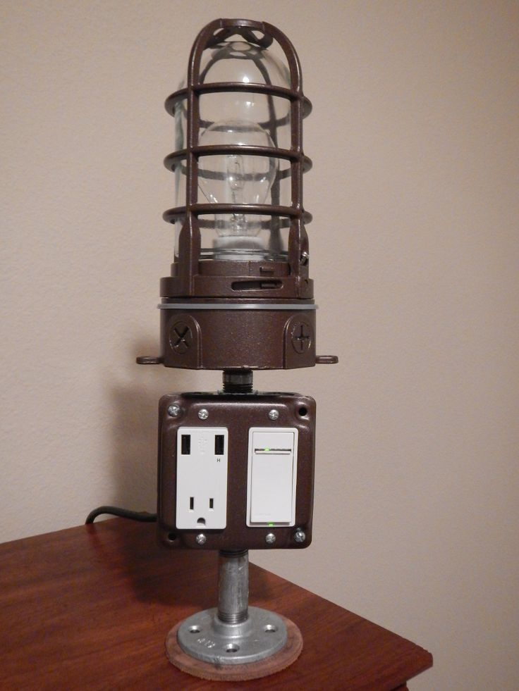 usb charging lamp diy usb charging station lamp pinterest. Black Bedroom Furniture Sets. Home Design Ideas