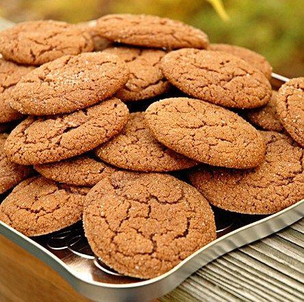Spicy Molasses Cookies | Food & drink | Pinterest