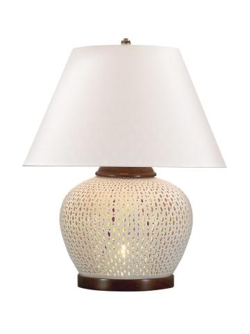 ralph lauren pierced table lamp interior design pinterest. Black Bedroom Furniture Sets. Home Design Ideas