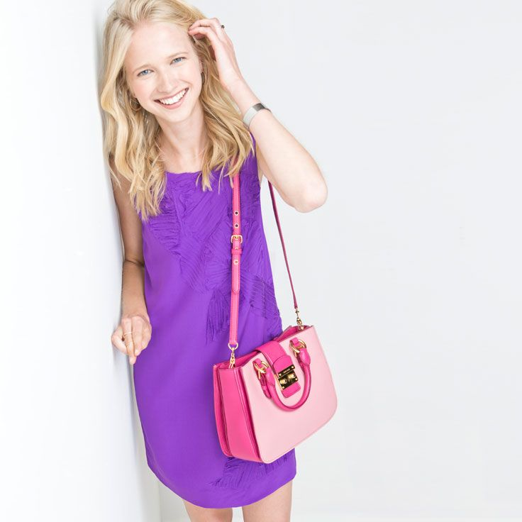 Keep things playful in purple and pink.
