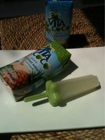 Coconut Water Popsicles | Healthy Nutritious Yummiest | Pinterest