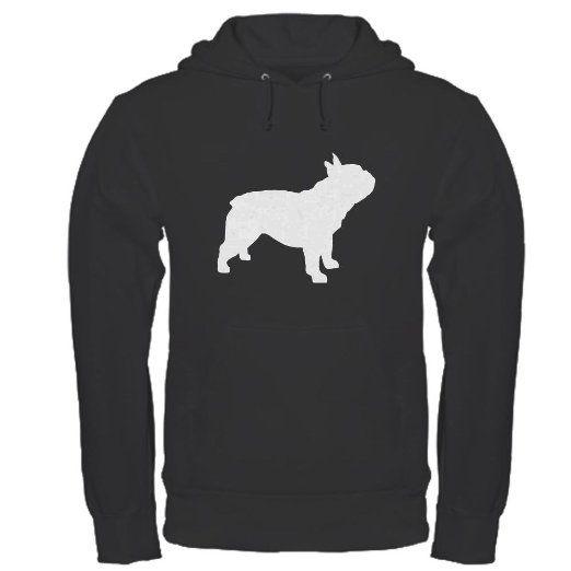 AmazonSmile: CafePress french bulldog Hoodie dark: Clothing