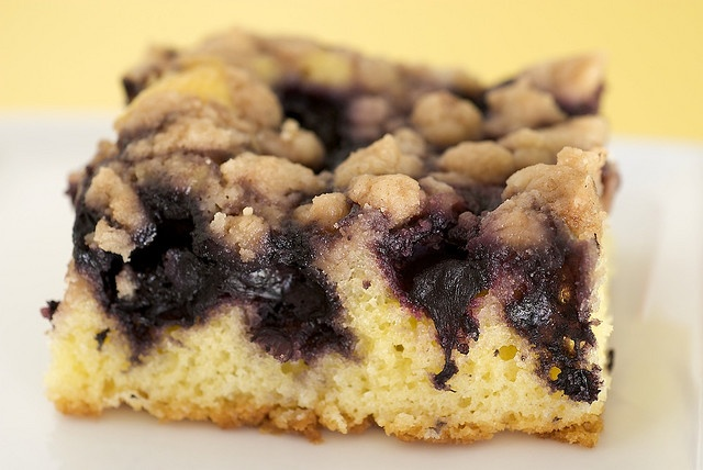 Blueberry Crumb Cake from Bake or Break