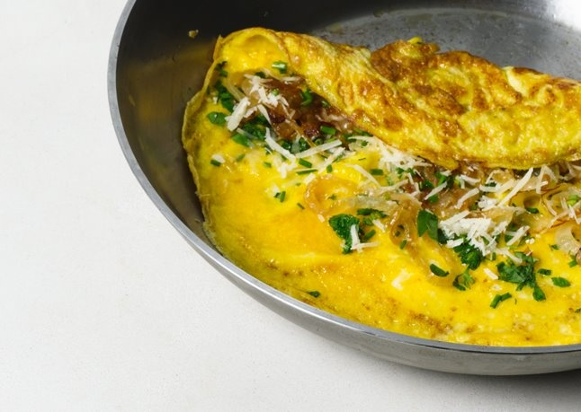 Golden-Brown Omelet | Delicious Food | Pinterest