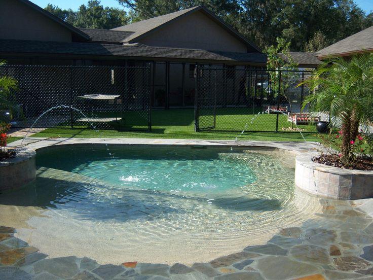 Pin by easyturf on easyturf loves pets pinterest for Garden pool for dogs