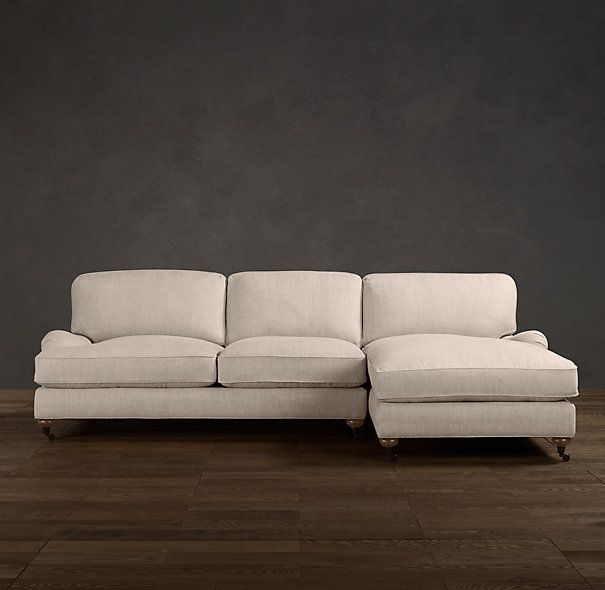 upholstered sofa chaise sectionals sectionals restoration hardware