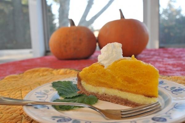 Pumpkin Mousse Cheesecake | Dessert's ~~Sweets | Pinterest