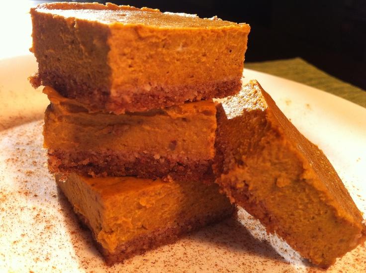 Paleo Pumpkin Bars | Delicious edibles to assemble!! | Pinterest