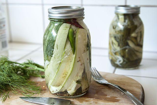 Pickled Yellow Squash Recipe — Dishmaps