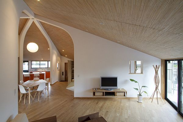 A house designed for a young couple with japanese characteristics - House plans for young couples energetic designs ...