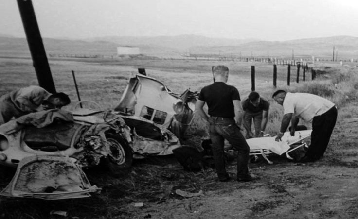 James Dean Car Crash Various Pinterest