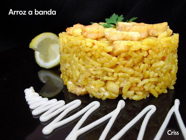 ALIMENTA: ARROZ A BANDA | Arroces | Pinterest