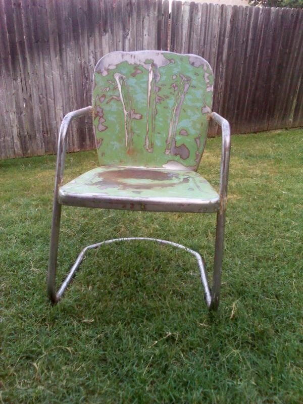 metal retro lawn chairs Google Search Vintage
