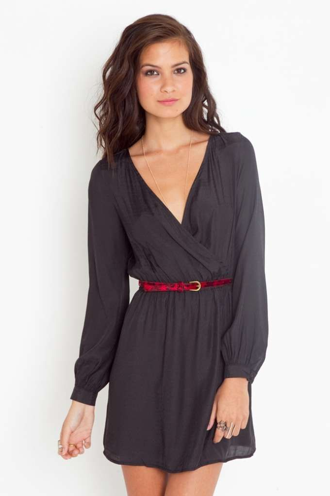 Slither Wrap Dress