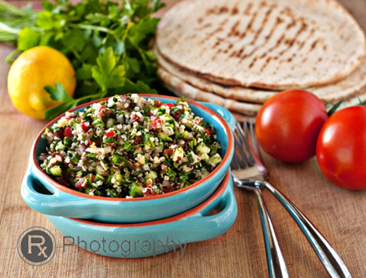 Quinoa Tabbouleh Salad | Grains and Rice | Pinterest